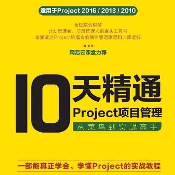 10天精通Project项目管理,从菜鸟到实战高手