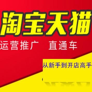 淘宝天猫运营推广培训课程新手开店到高手