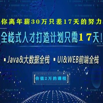中软国际架构师陈伟俊JAVA+大数据和web前端教程视频(两万学费的课程)